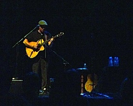 Ryan Montbleau performs at The Keswick Theater, Glenside, PA. April 28, 2012.
