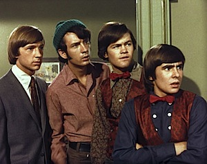 The Monkees, from left - Peter Tork, Mike Nesmith, Miky Dolenz and Davey Jones.